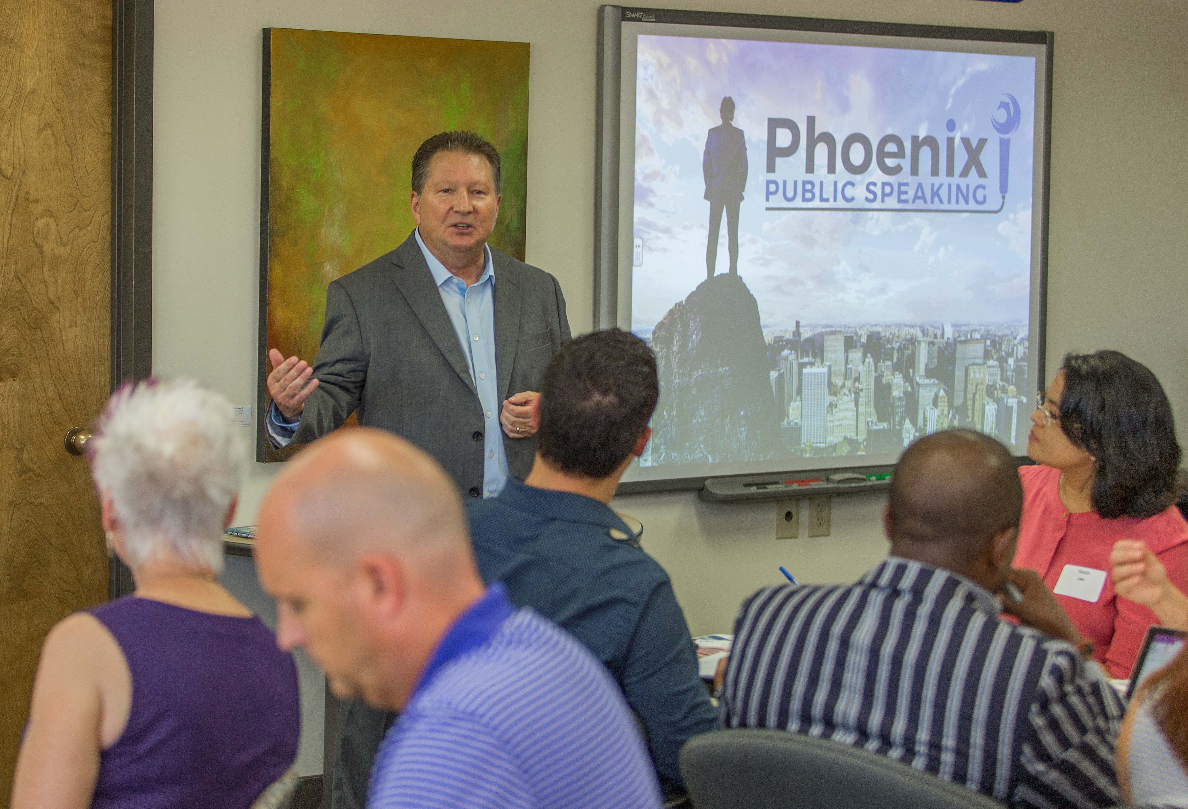 Phoenix Public Speaking workshops and coaching